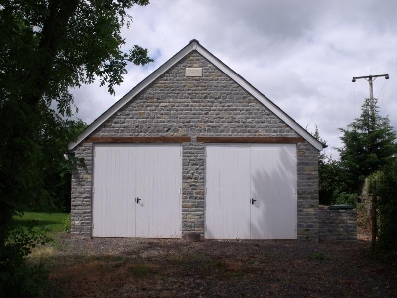 Garage Build - Barton St David